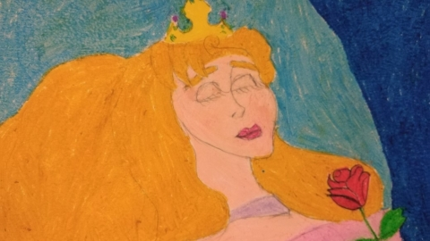 Puzlle - Śpiąca Królewna