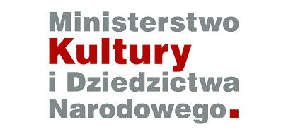 Logo - Ministerstwo Kultury i Dziedzictwa Narodowego