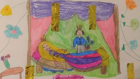 Puzlle - Śpiąca Królewna 2