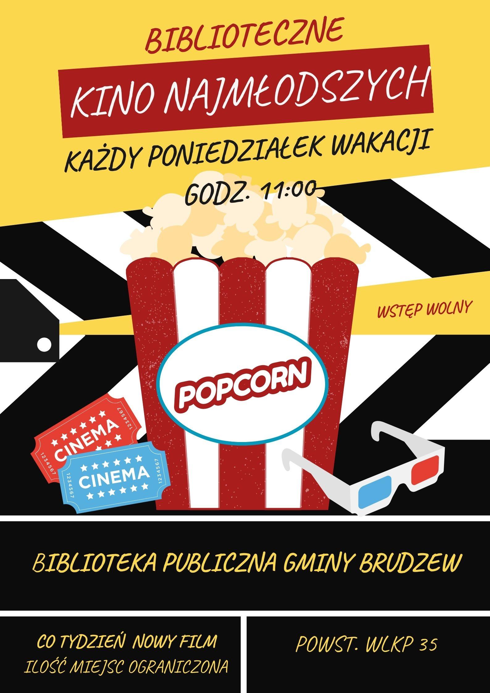 zdjęcie - Biblioteczne Kino Najmłodszych