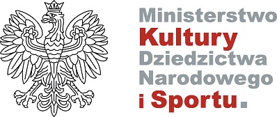 Logo - Ministerstwo Kultury, Dziedzictwa Narodowego i Sportu