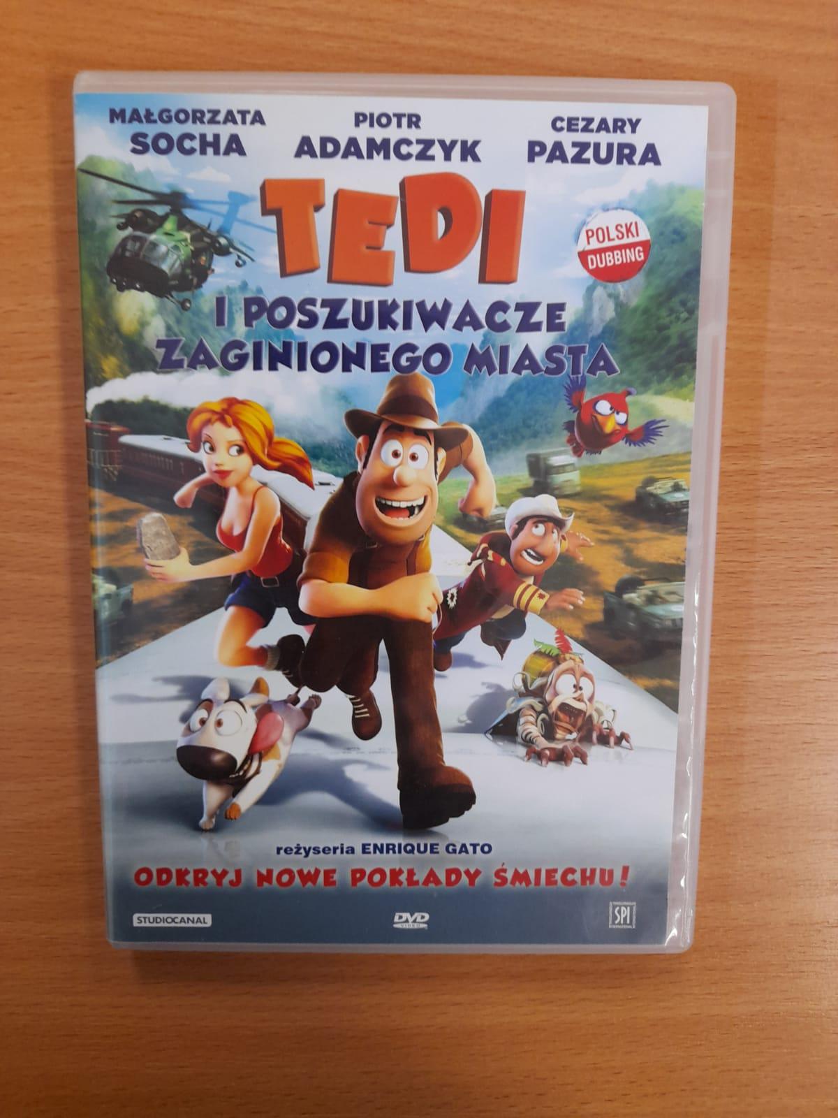 okładka płyty z filmem, na okładce trzy biegnące postacie